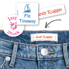 name tags for clothes