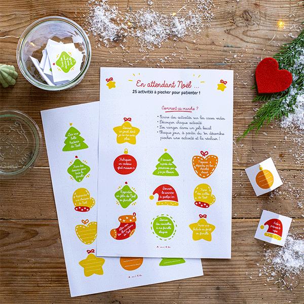 25 activités de Noël pour patienter jusqu'au jour J, à imprimer gratuitement