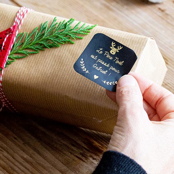 Étiquettes pour paquets cadeaux : une attention personnalisée