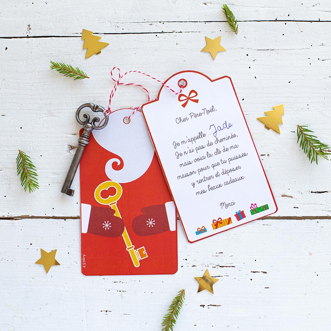Fabriquer une Clé du Père-Noël pour les logements sans cheminées