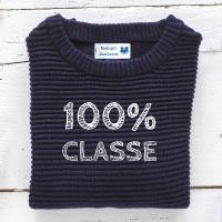 Etiquette vêtement école