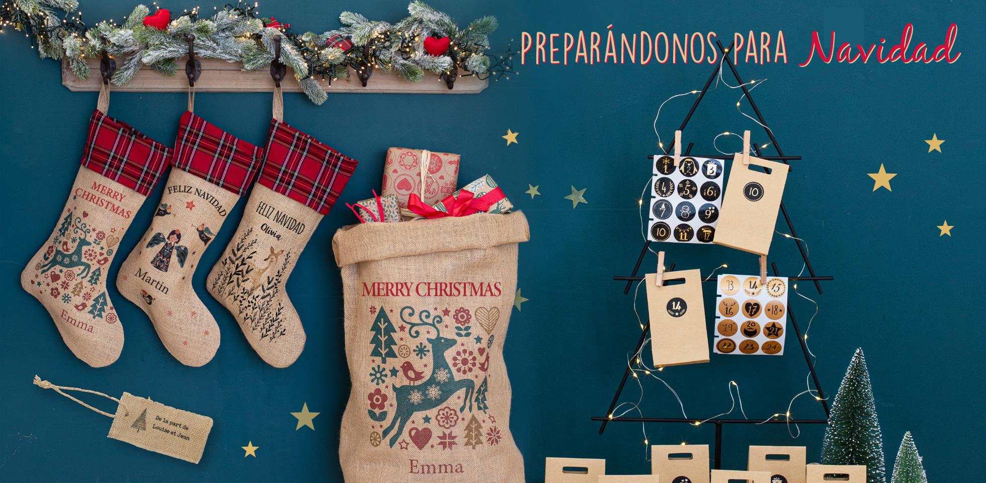 Sacos de Navidad