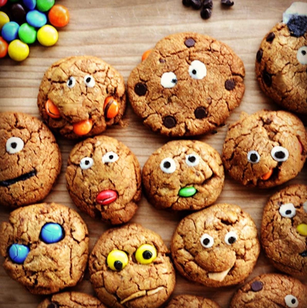 Recette pour le goûter : Les monstrueux Cookies