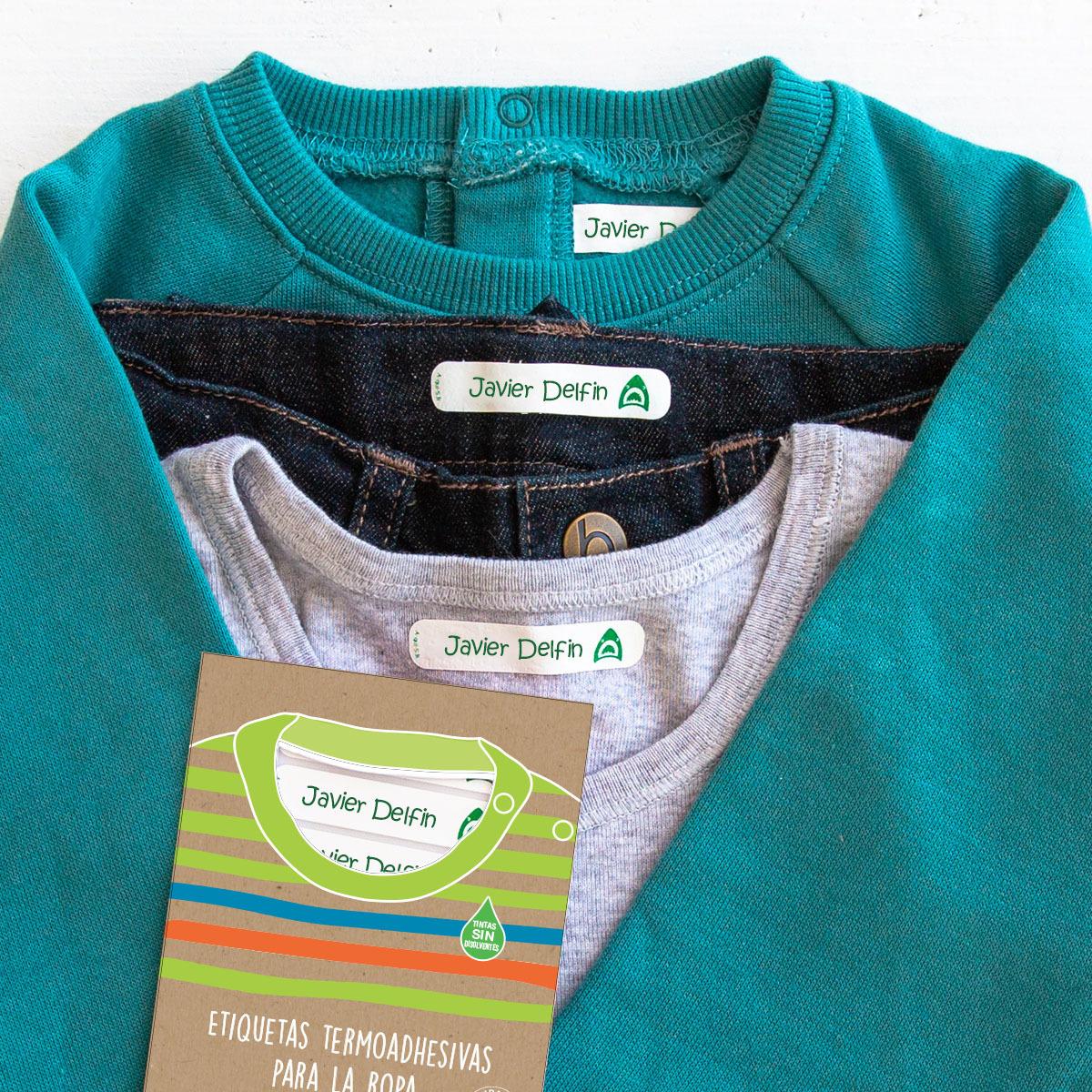 Etiquetas termoadhesivas: marca tu ropa fácilmente