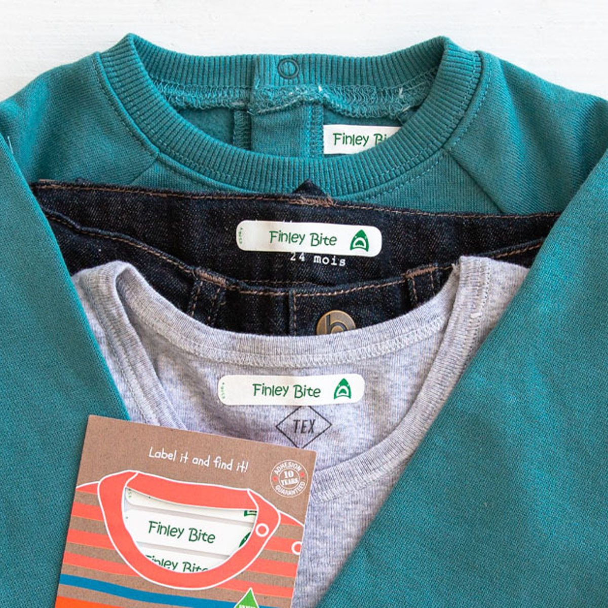 iron on name labels for clothes