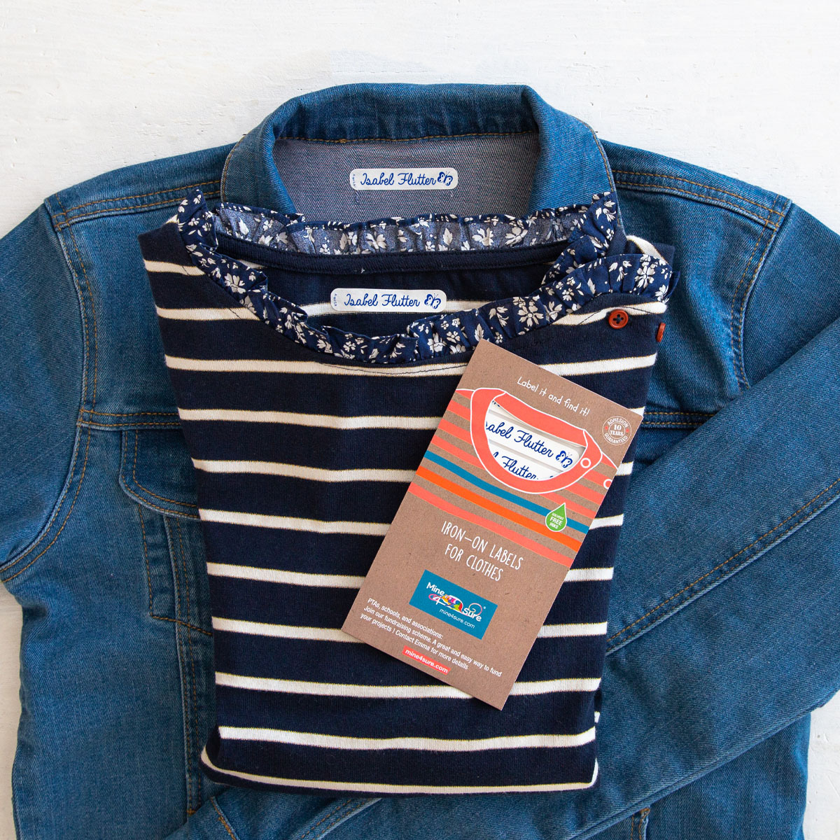 Iron on name labels: The easy solution to label all your clothes