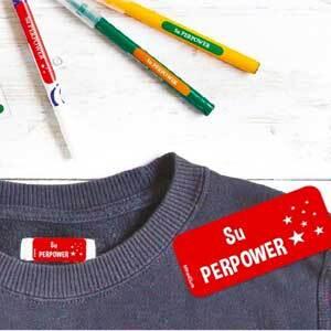 school uniform mixed labels pack