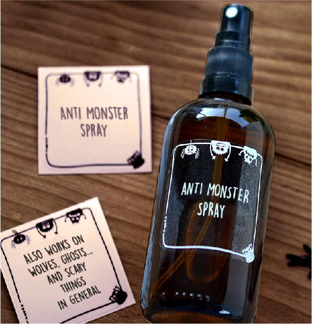 Anti Monster Spray: To make bedtime a little bit easier!
